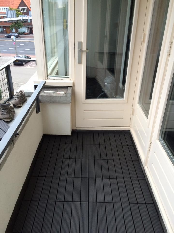 Top Rubberen balkon bedekking gelegd - Jamo vastgoed service SL99