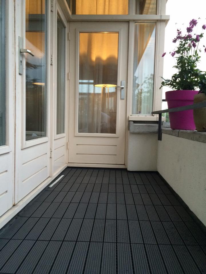 Top Rubberen balkon bedekking gelegd - Jamo vastgoed service NK08