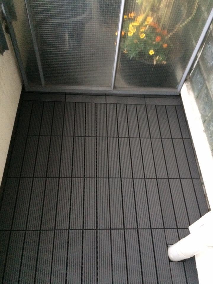Top Rubberen balkon bedekking gelegd - Jamo vastgoed service UW62